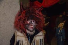 Kleiner lächelnder Teufel lizenzfreies stockbild