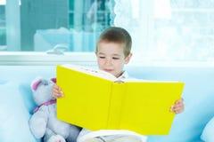 Kleiner Leser lizenzfreies stockbild