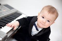 Kleiner Musiker lizenzfreies stockbild