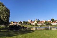 Kleiner Park Stockbilder