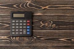 Kleiner persönlicher Taschenrechner Lizenzfreie Stockbilder