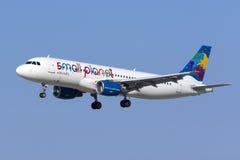 Kleiner Planet A320 Lizenzfreies Stockfoto