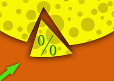 Kleiner Prozentsatz Lizenzfreies Stockbild