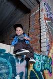 Kleiner Rapper Lizenzfreie Stockfotografie