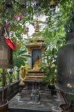 Kleiner Schrein am goldenen Berg in Bangkok Stockbilder