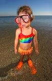 Kleiner Schwimmer Stockfotos