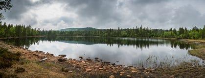 Kleiner See in Siljan Lizenzfreies Stockfoto