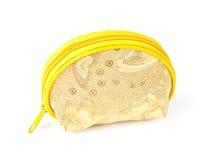Kleiner Segeltuchbeutel des Goldes. Stockbilder