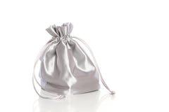 Kleiner silk moderner Beutel Stockfotografie