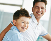 Kleiner Sohn Lizenzfreies Stockfoto