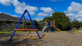 Kleiner Spielplatz Lizenzfreie Stockfotos