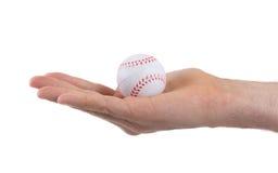 Kleiner Spielzeugball lokalisiert lizenzfreie stockbilder