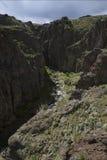 Kleiner Steckfassungs-Nebenfluss Stockbild