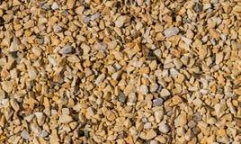Kleiner Steinschutt Stockbild