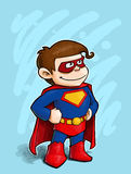 Kleiner Superheld vektor abbildung