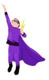 Kleiner Superheld Lizenzfreie Stockfotos