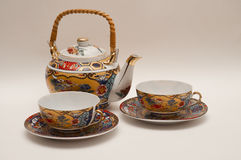 Kleiner Teesatz Stockbild
