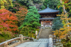 Kleiner Tempel Chion-in am Komplex in Kyoto Stockfoto
