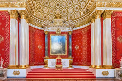 Kleiner Thron Hall, Einsiedlerei-Museum, St Petersburg, Russland Stockfoto
