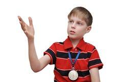 Kind-Trainer bildet das Team aus Lizenzfreie Stockfotografie