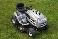 Kleiner Traktor Stockfotografie