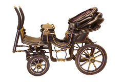Kleiner Wagen der Weinlese Pferde Lizenzfreies Stockbild