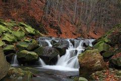 Kleiner Wasserfall Stockbilder