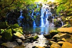 Kleiner Wasserfall 2 Lizenzfreies Stockbild