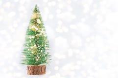 Kleiner Weihnachtsbaum Lizenzfreie Stockbilder