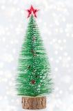 Kleiner Weihnachtsbaum Stockfotos
