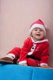 Kleiner Weihnachtsmann Lizenzfreies Stockfoto
