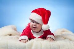 Kleiner Weihnachtsmann Stockbild
