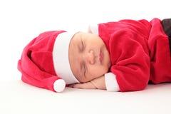 Kleiner Weihnachtsmann Stockfotos