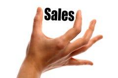 Kleinere verkoop stock illustratie