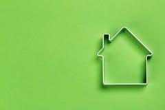 Kleines abstraktes Modell des Hauses Lizenzfreies Stockbild