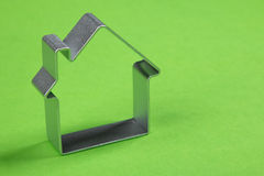 Kleines abstraktes Modell des Hauses Lizenzfreie Stockfotos