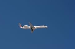 Kleines Air- Franceflugzeug Stockbilder