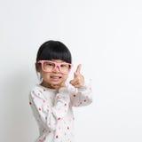 Kleines asiatisches Kind Stockfotos