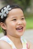 Kleines asiatisches Mädchen Stockbild