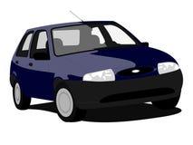 Kleines Auto   Lizenzfreies Stockbild