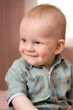 Kleines Baby, 1 Jahr Stockbild