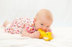 Kleines Baby stockbild