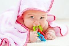 Kleines Baby stockfoto