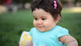 Kleines Baby stock footage