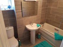 Kleines Badezimmer Lizenzfreies Stockbild