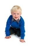 Kleines blondes Kind Lizenzfreies Stockbild