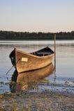 Kleines Boot des Fischers Stockfoto