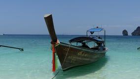 Kleines Boot - Haupttransport in Thailand lizenzfreie stockbilder