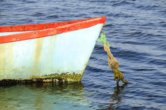 Kleines Boot in Knysna-Lagune Lizenzfreie Stockbilder