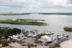 Kleines Boots-Hafen Stockfoto